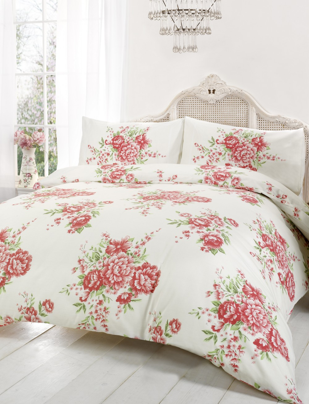 Floral Duvet Cover In Double Amp Kingsize Flowery
